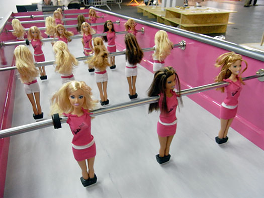 Barbie kicker
