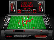 Coke zero retro electro football spiele online